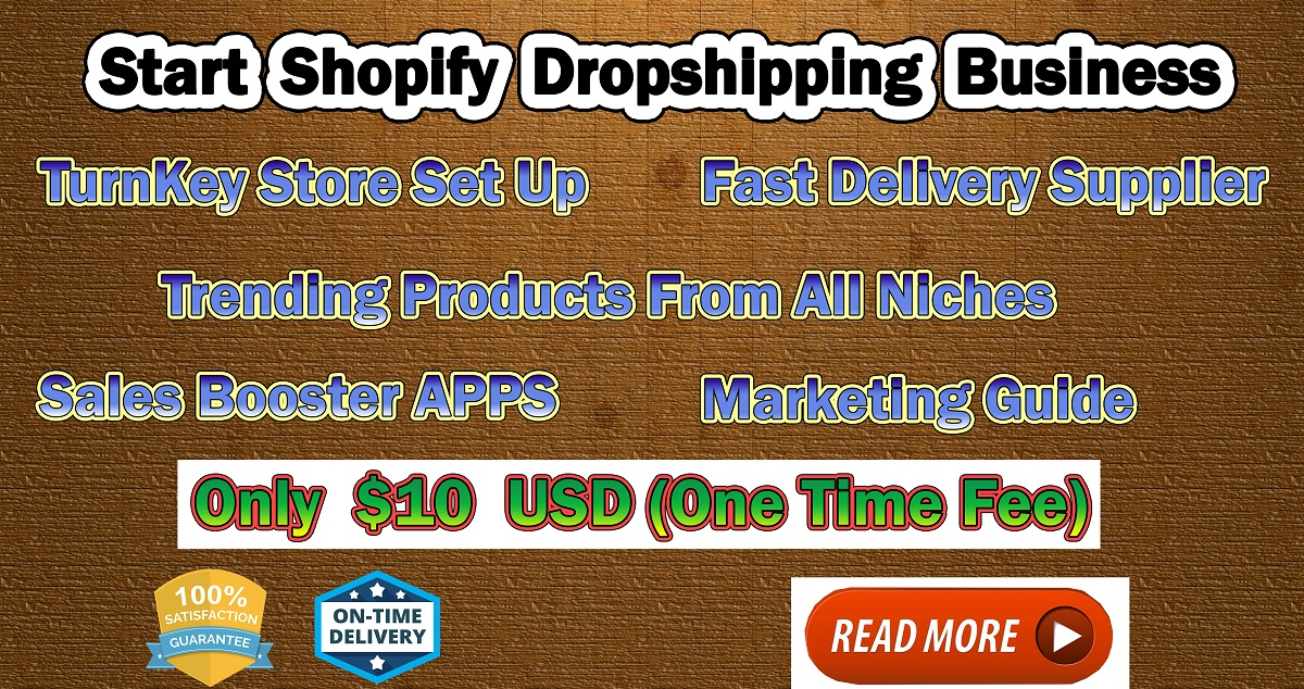 Start your Shopify Dropshipping Business Today | Best Guide to