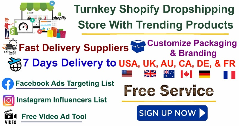 shopify dropshipping store set up